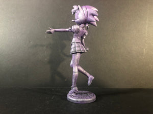 School Girl Amy Rose Sonic Amiibo
