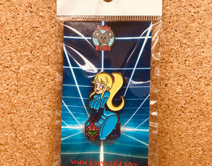 Sexy Samus Pinup Girl Pin