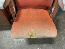 Load image into Gallery viewer, Lot of 4 vintage theater folding seats