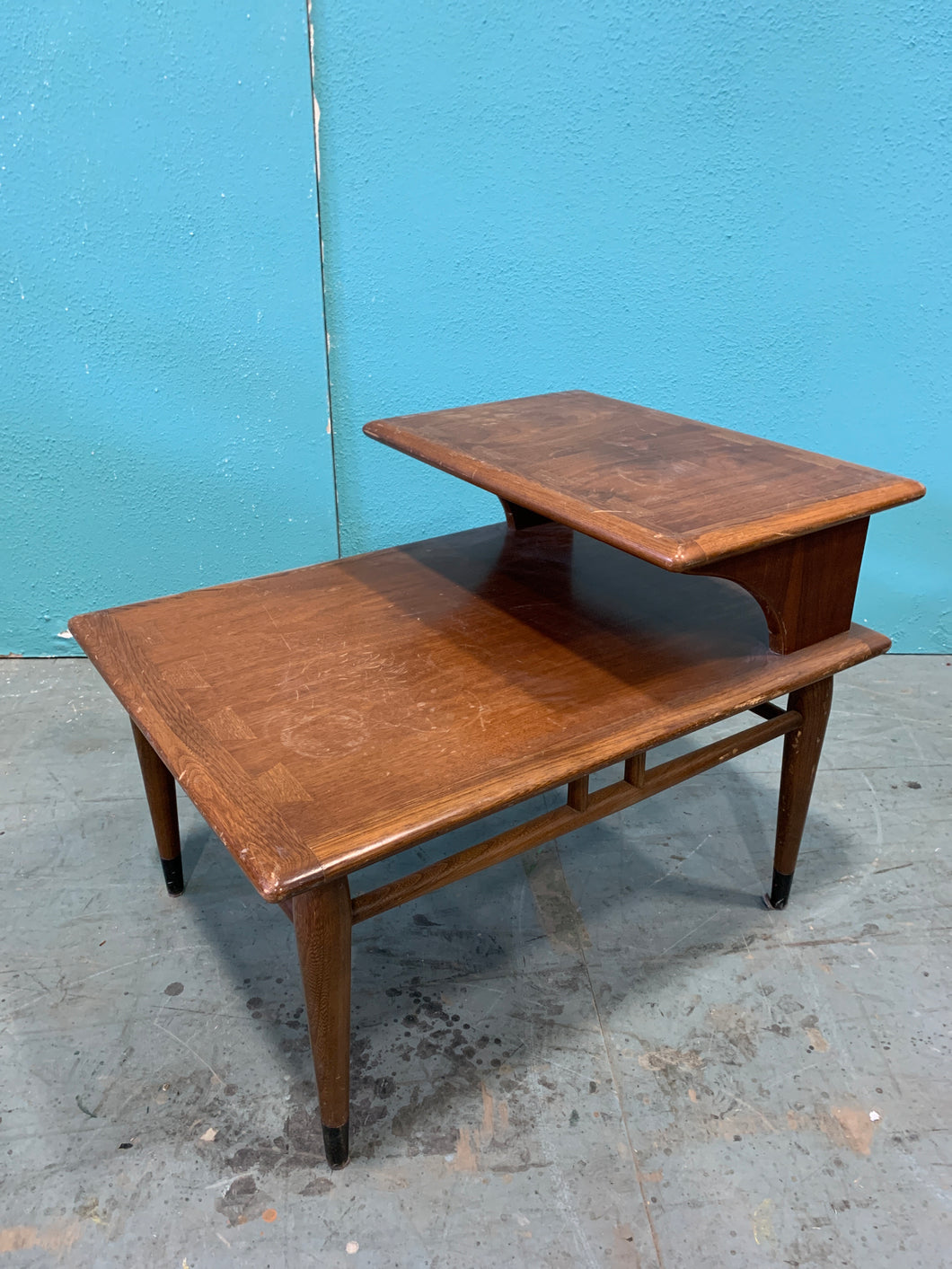 Tables de lecture en bois 1960