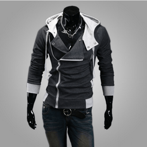 Assassins Creed Hoodie - Dark gray / XS - HIS.BOUTIQUE