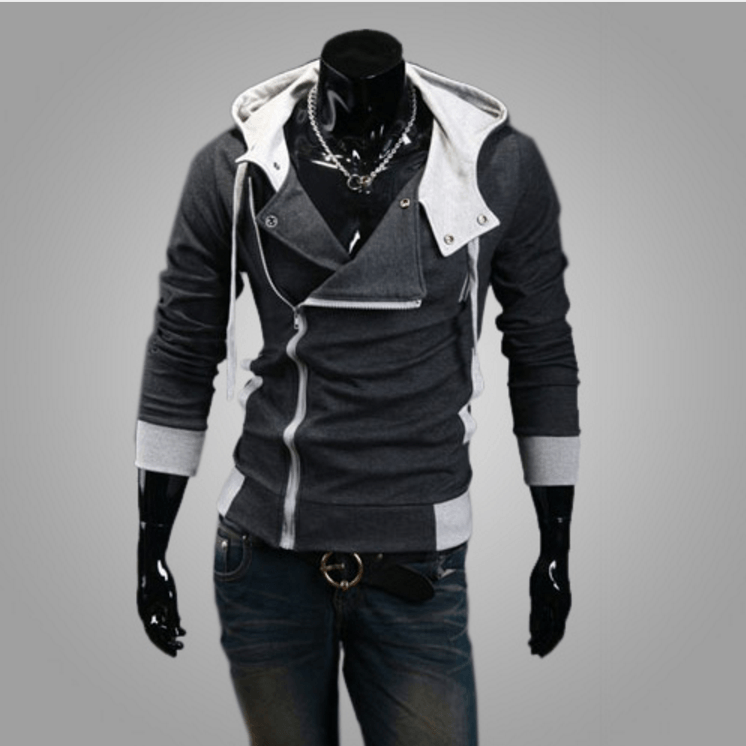 Assassins Creed Hoodie - Light gray / XS - HIS.BOUTIQUE
