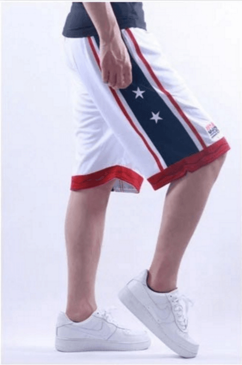 USA Men's Basketball Shorts -  - HIS.BOUTIQUE