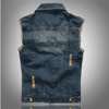 Men's Denim Vest -  - HIS.BOUTIQUE