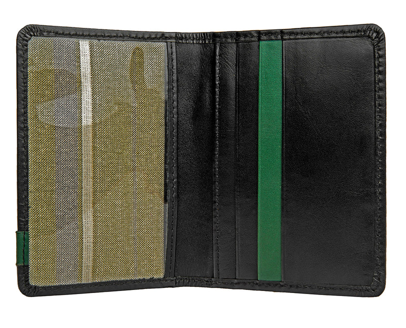 Hidesign Dylan Leather Slim Card Holder With ID Compartment -  - HIS.BOUTIQUE
