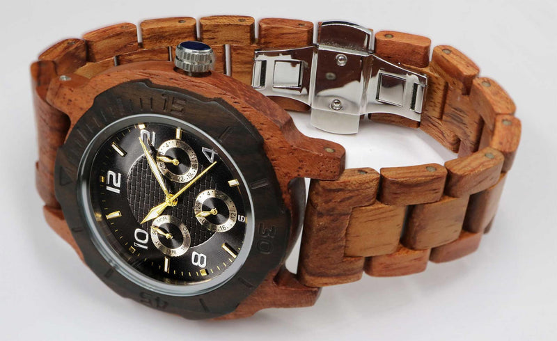 Kosso Wooden Watch -  - HIS.BOUTIQUE