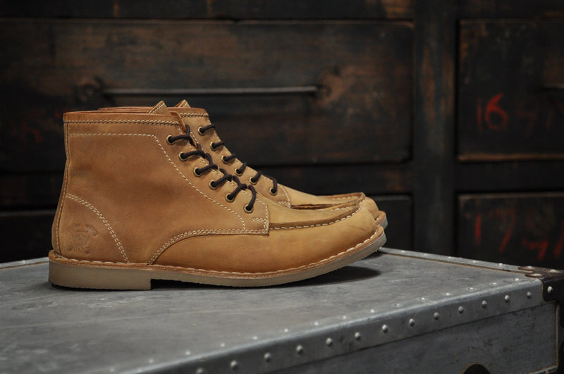 The Cooper | Crazy Horse Tan Leather - 8 / Brown - HIS.BOUTIQUE