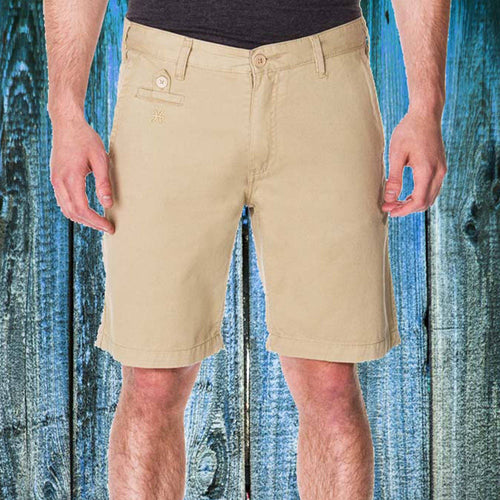 65 McMlxv Men's Khaki Chino Short -  - HIS.BOUTIQUE