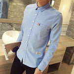 The Oxford Shirt - S / Light Blue - HIS.BOUTIQUE
