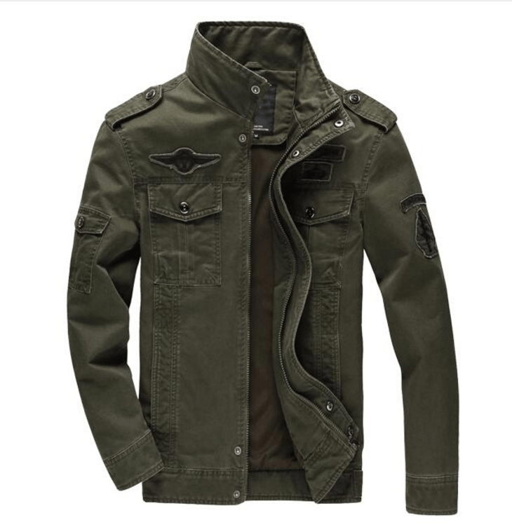 Air Force Military Jacket - Army Green / S - HIS.BOUTIQUE
