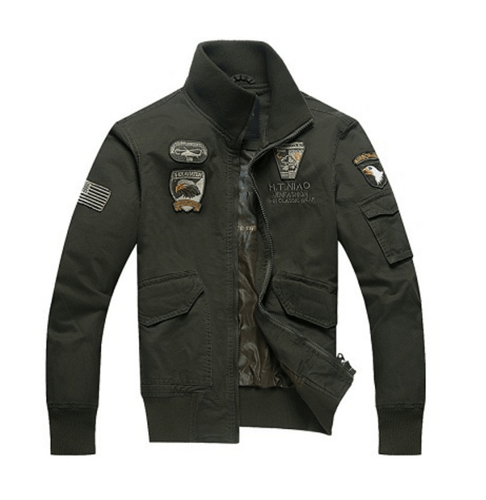 AERONAUTICA Military Field Jacket - Army Green / XXXL - HIS.BOUTIQUE