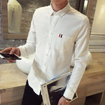 The Oxford Shirt - S / White - HIS.BOUTIQUE