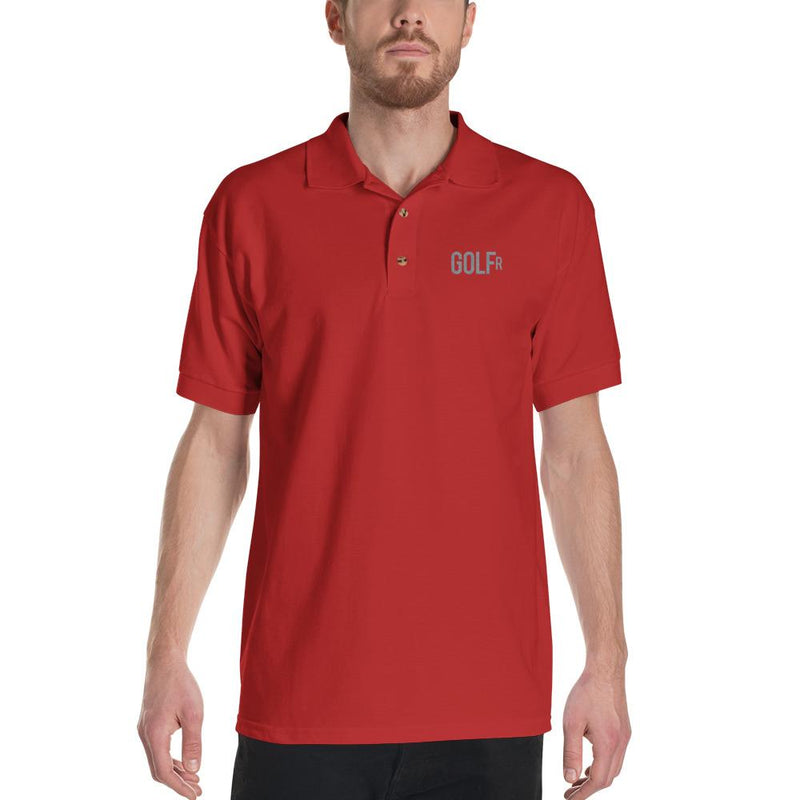 Golf R Embroidered Polo Shirt -  - HIS.BOUTIQUE
