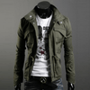 Military Style Jacket - Army Green / XS - HIS.BOUTIQUE