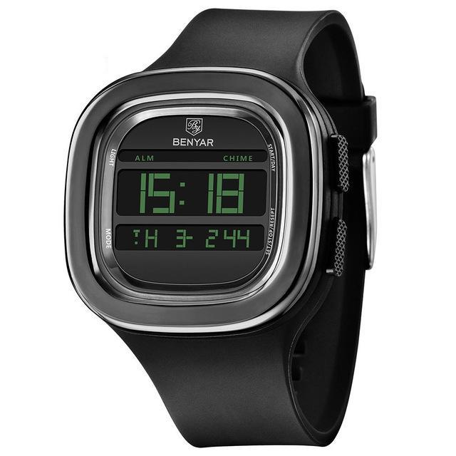 BenYar Digital Sports Watch - Black - HIS.BOUTIQUE