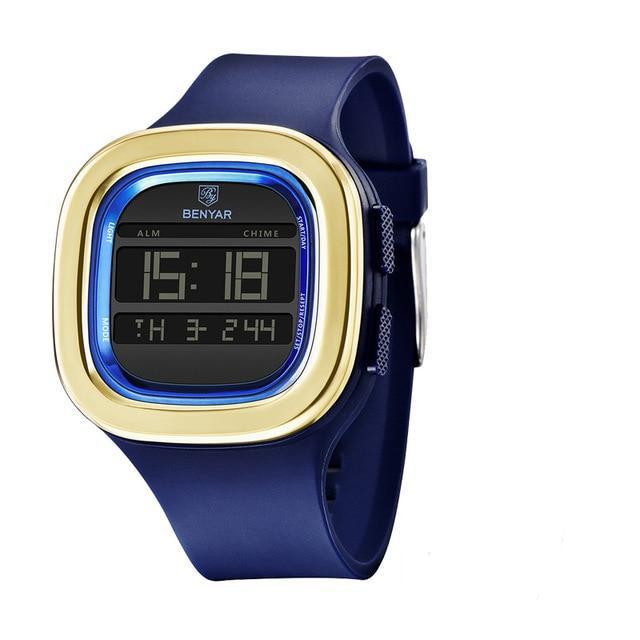 BenYar Digital Sports Watch - Blue - HIS.BOUTIQUE