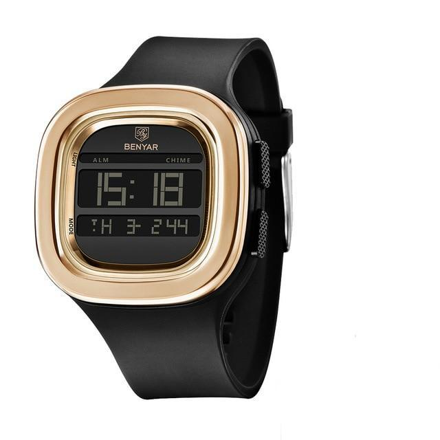 BenYar Digital Sports Watch - Gold - HIS.BOUTIQUE