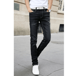 Casual Stretch Skinny Jeans - Black / 27 - HIS.BOUTIQUE