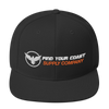 Find Your Coast Supply Company Snapback Hat - Black - HIS.BOUTIQUE