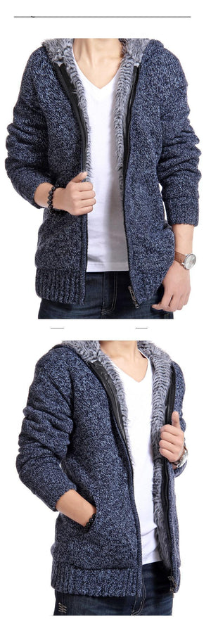 Persuader Hooded Cardigan -  - HIS.BOUTIQUE