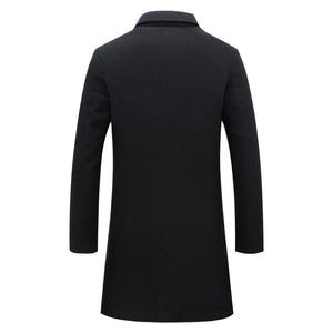 England Wool Coat -  - HIS.BOUTIQUE