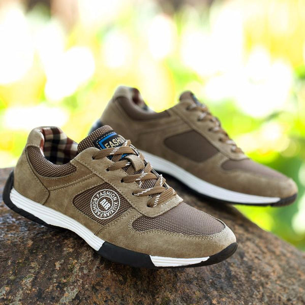 Mesh Outdoor Shoes - Khaki / 6.5- Footwear -HIS.BOUTIQUE