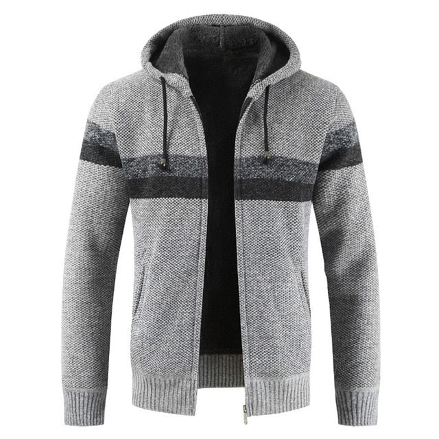 Rope Hoodie - Gray / L - HIS.BOUTIQUE