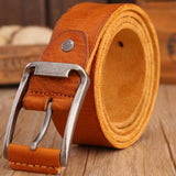 Leather Strap Solid Belt - - Belt -HIS.BOUTIQUE