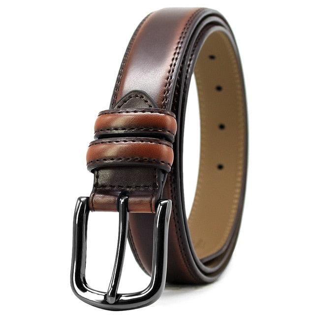 DOOPAI Men's belt - Brown / 130cm - HIS.BOUTIQUE
