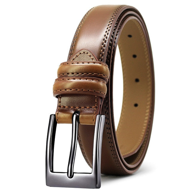 DOOPAI Men's belt - Light Brown / 130cm - HIS.BOUTIQUE