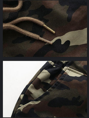 Men Crotch Camouflage Pants -  - HIS.BOUTIQUE