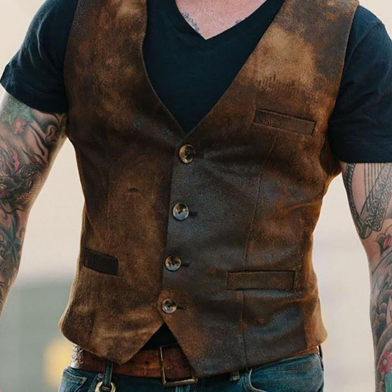 Vintage Suit Vest -  - HIS.BOUTIQUE