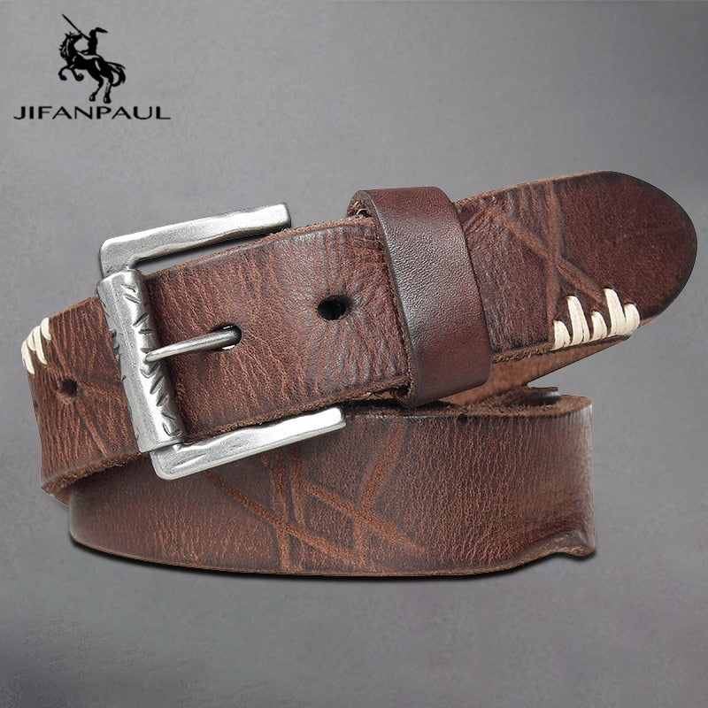 JIFANPAUL Alloy Pin Belt -  - HIS.BOUTIQUE