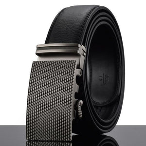 Futuristic Leather Belt - J / 110cm / Black - HIS.BOUTIQUE