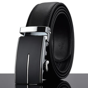 Futuristic Leather Belt - K / 110cm / Black - HIS.BOUTIQUE