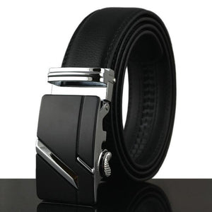 Futuristic Leather Belt - N / 110cm / Black - HIS.BOUTIQUE