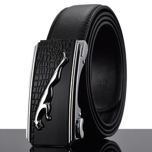 Futuristic Leather Belt - P / 110cm / Black - HIS.BOUTIQUE