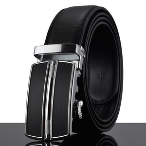 Futuristic Leather Belt - R / 110cm / Black - HIS.BOUTIQUE