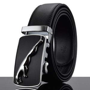 Futuristic Leather Belt - S / 110cm / Black - HIS.BOUTIQUE