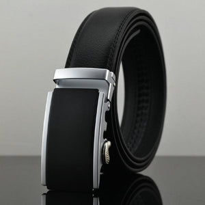 Futuristic Leather Belt - T / 110cm / Black - HIS.BOUTIQUE