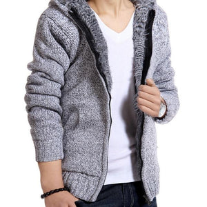 Persuader Hooded Cardigan - light Gray / XS - HIS.BOUTIQUE