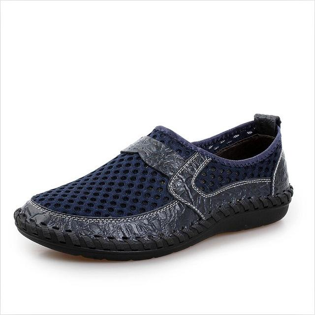 Mesh Bonded Casual Shoe - Dark blue / 6.5- Footwear -HIS.BOUTIQUE