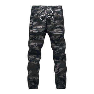 Men Crotch Camouflage Pants - Army Green / XS - HIS.BOUTIQUE