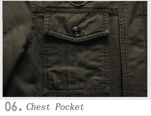 Air Force Military Jacket - - Jacket -HIS.BOUTIQUE