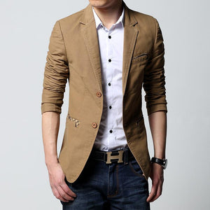 Two Buttons Sports Blazer -  - HIS.BOUTIQUE