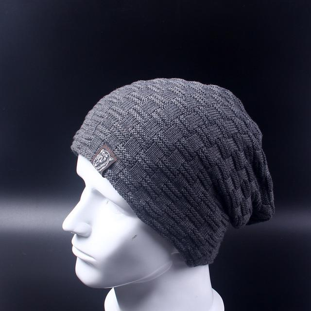 Baggy Beanie - gray - HIS.BOUTIQUE