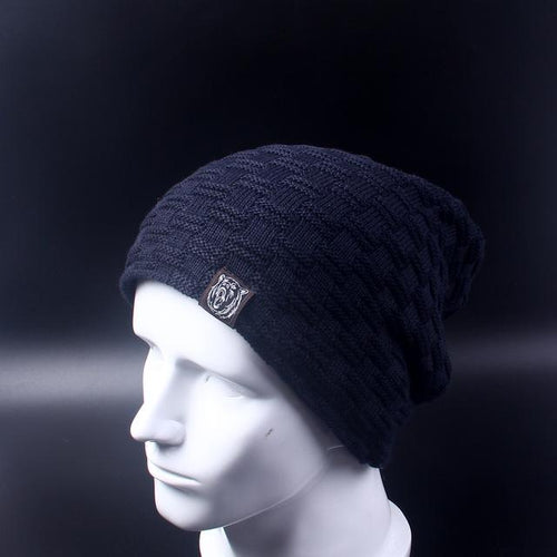 Baggy Beanie - blue- Beanie -HIS.BOUTIQUE
