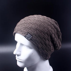 Baggy Beanie - khaki - HIS.BOUTIQUE