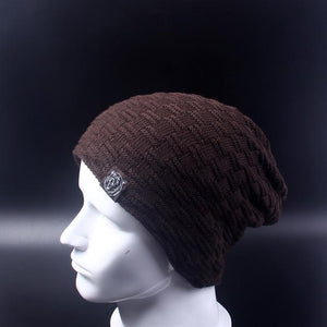 Baggy Beanie - brown - HIS.BOUTIQUE