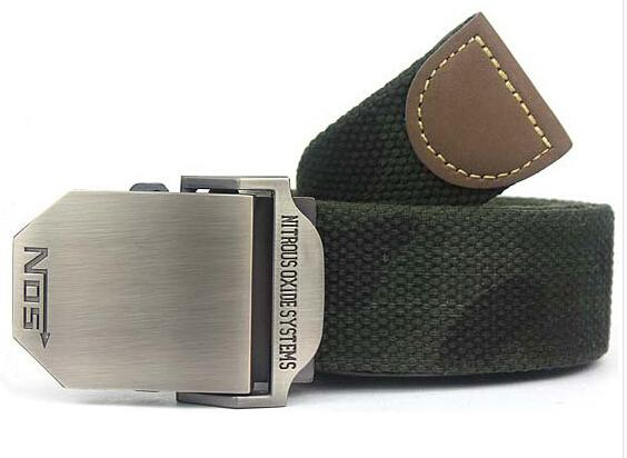 Military Canvas Belt - Camouflage / 110cm - HIS.BOUTIQUE